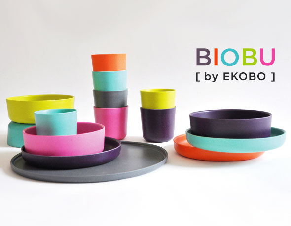 biobu une nouvelle gamme de vaisselle co design by ekobo. Black Bedroom Furniture Sets. Home Design Ideas
