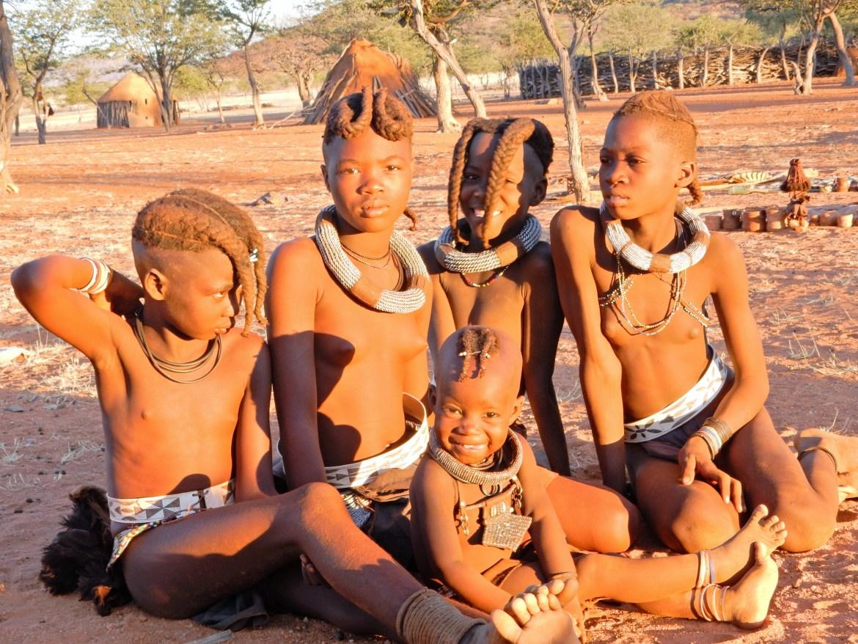 himbas namibie