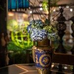 PHOTO: Vase from Antiques, Garden & Design Show.