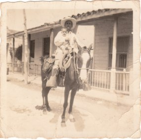 PHOTO: My grandfather and uncle, circa 1940s in Bolondron, Cuba.
