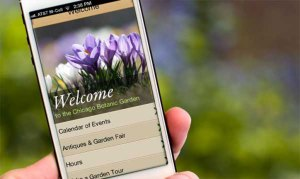 Download the Garden Guide app at www.chicagobotanic.org/app.