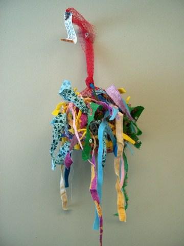 PHOTO: The finished nesting bag