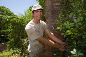 PHOTO: Kyle McGreevy, 2013 Landscape Design Intern
