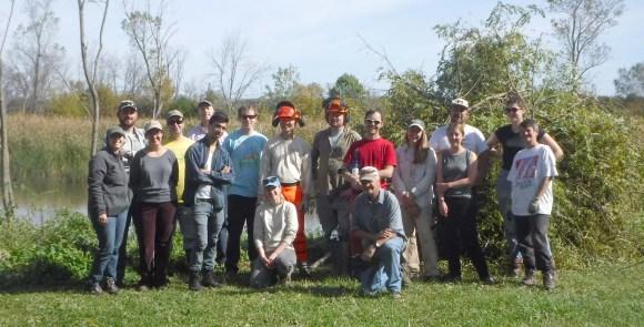 PHOTO: Plants of Concern volunteers.