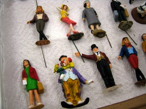 PHOTO: Rows of miniature citizens.