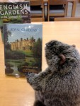 PHOTO: Botanical Bill catches up on his reading in the library.