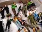 PHOTO: Miniature musicians other model citizens.