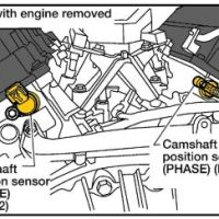 DTC P0345 - How To Service a VQ35 Camshaft Position Sensor
