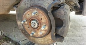 Honda Civic Integra Brake Swap17