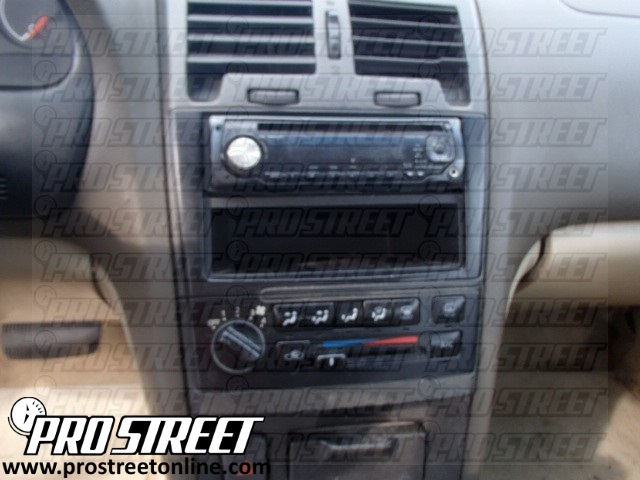How To Nissan Maxima Stereo Wiring Diagram