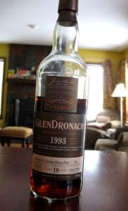 Glendronach 19, 1993, Cask 536