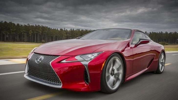 ALL-NEW 2017 LEXUS LC 500 DEBUT