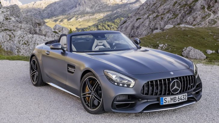 THE NEW MERCEDES-AMG GT ROADSTER AND GT C ROADSTER