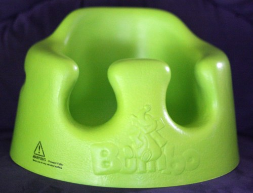 Medium Of Bumbo Seat With Tray
