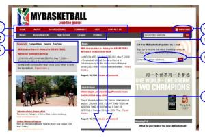 Finding your way around the new MyBasketball