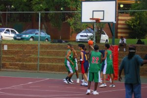 Organising a basketball tournament