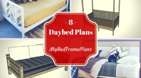8 Free Daybed Plans