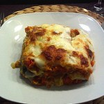 German Pumpkin Lasagne