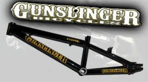 Gunslinger Bikes….talkin' ol' west BMX!!!