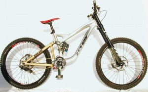 KHS's New DH Bike – DH650B …. can the mid size wheel be the ticket?