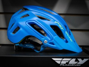 Full coverage helmet from Fly Racing.