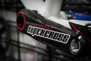 Um yeah… not sure now to say this…BUT SUPERCROSS BMX had some silly sick carbon cranks on hand.
