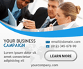 Clean Business Banner ad Design