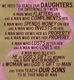 Teaching Our Daughters and Sons