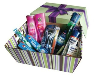 P&G Basket of Personal Care Products