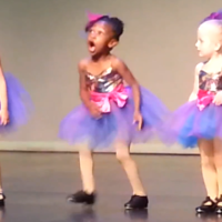 Preschool Tap Dancer Goes Rogue