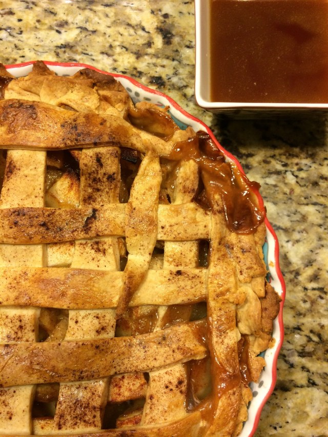 Cider Apple Pie with Apple Cider Drizzle (RECIPE)