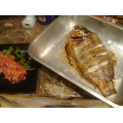 Magnificent A Pan Nigeria How To Grill Tilapia Tilapia Fresh Shito Ready To Serve Grilled Tilapia Recipe How To Grill Tilapia Fish