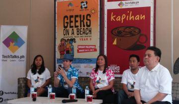 Geeks On A Beach