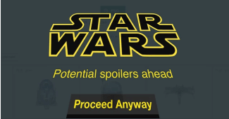 Star Wars spoilers blocker