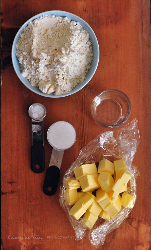 short-crust-pastry-ingredients