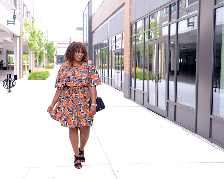 Plus size african print skirt set - my curves and curls