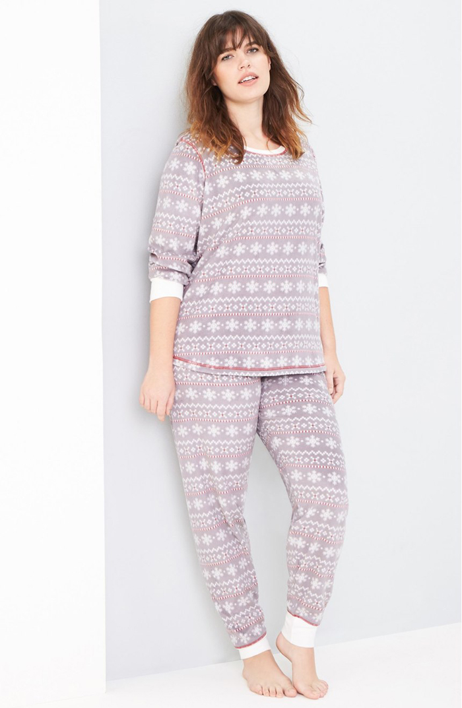 Fleece Lounge Pullover