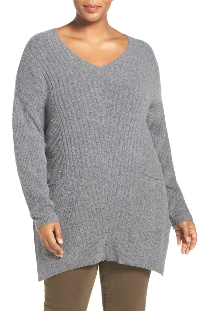 Plus Size Tunic Sweaters To Wear With Leggings