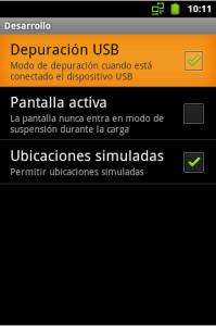 Ubicaciones Simuladas en Android
