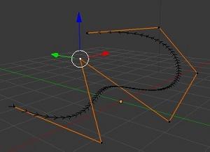 Mover objetos siguiendo un camino en Blender