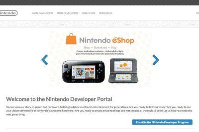 Nintendo lanza nuevo portal para desarrolladores