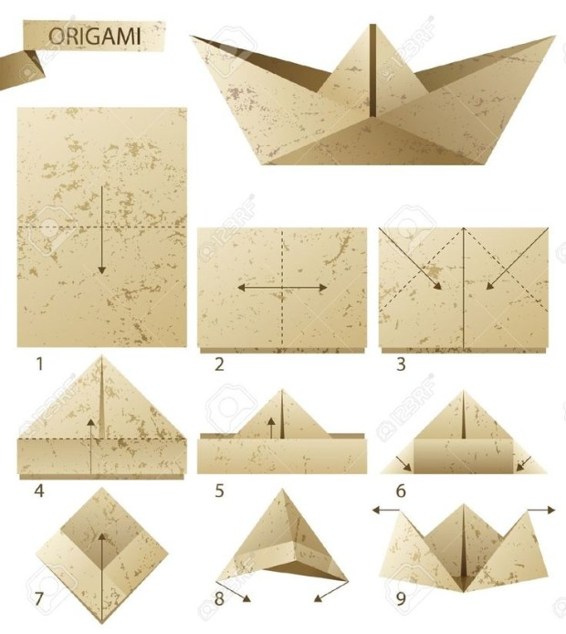 how to make a paper boat my daily magazine. Black Bedroom Furniture Sets. Home Design Ideas