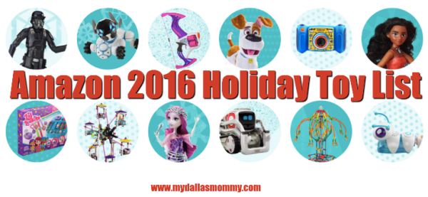 Amazon 2016 Holiday Toy List