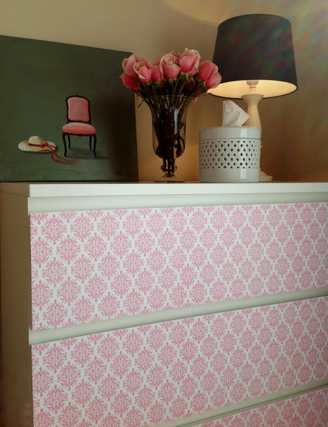 Dresser Redo for a Girl's Room