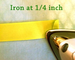 Iron at one fourth inch