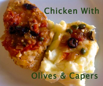 Chicken with Olives and Capers