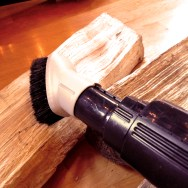 Vacuum The Logs