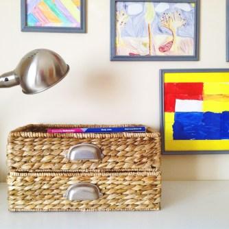 Baskets On Desk