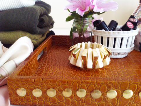 Tray In Master Closet