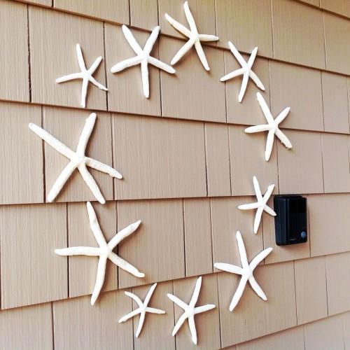 Starfish Wreath By The Wall - My Dear Irene